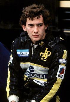 Ayrton Senna…