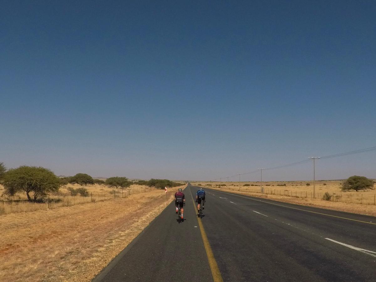 Kimberley na Strydenburg. (174km)